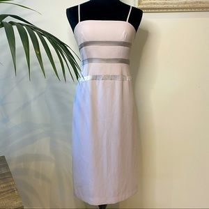 LISA HO Delicate Dust Pink Midi Formal Dress 8